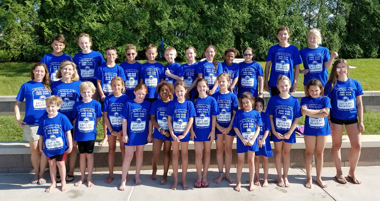 CP Bluefish Dive Team 2017